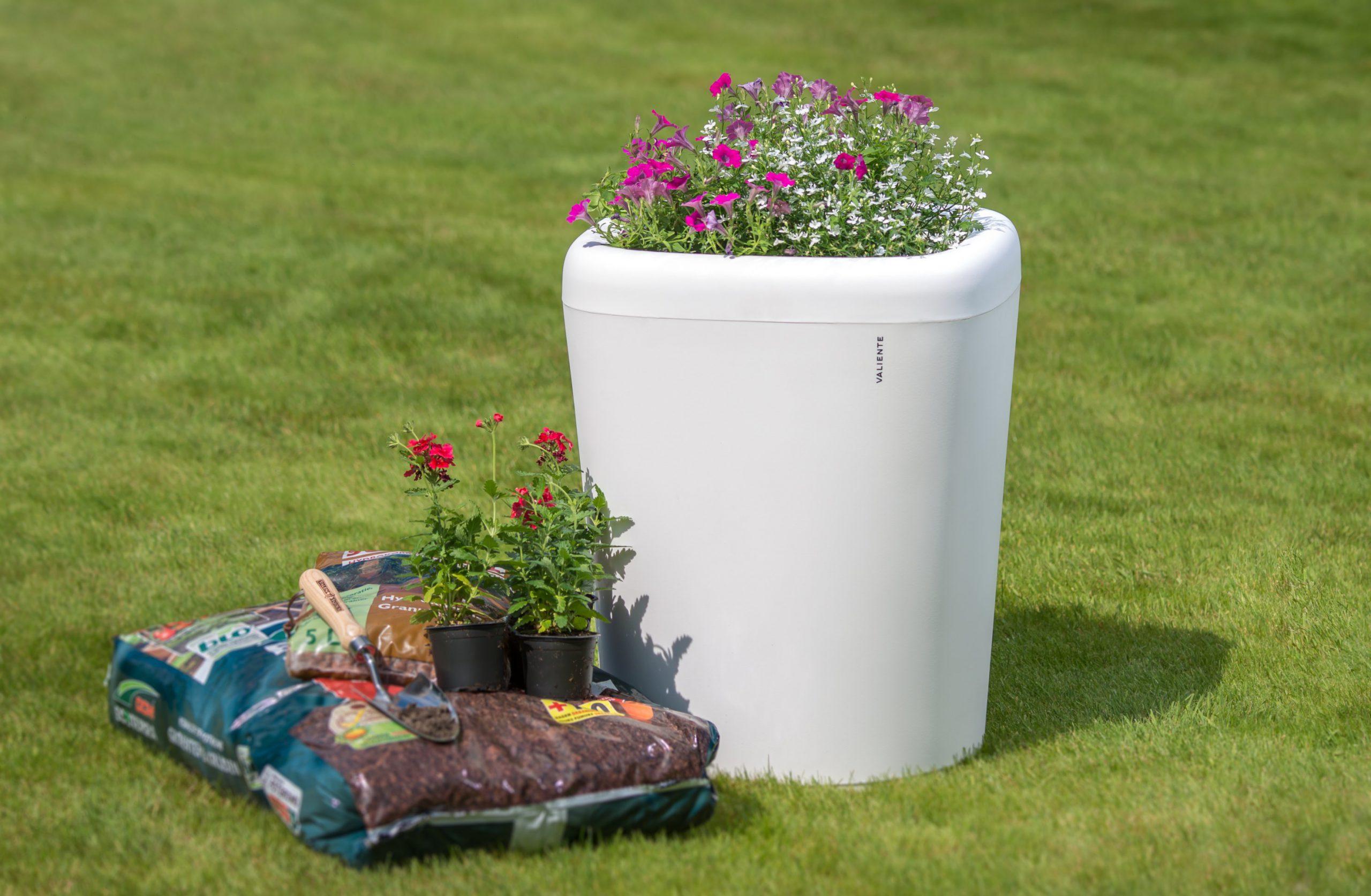 Flowerpot 600 wit