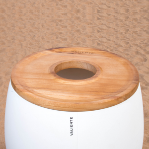 Top with hole Classic Icebucket wood
